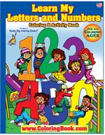 ABC-123 Big Coloring Book