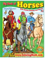 The Big Book of Horses Really Big Coloring Book